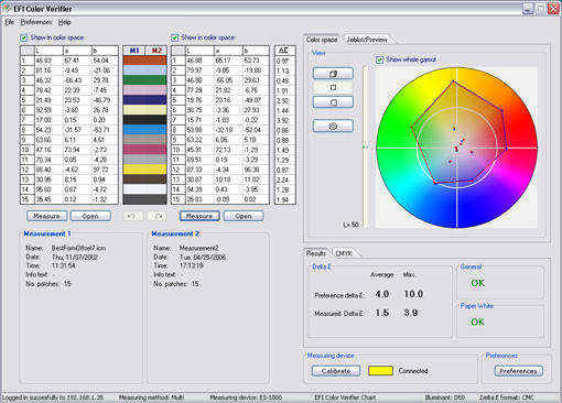 EFI Color Verifier